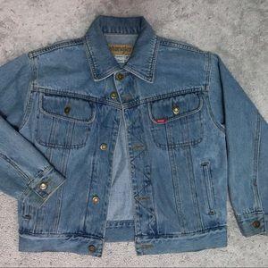 Wrangler Vintage Retro Denim Jacket Medium Wash